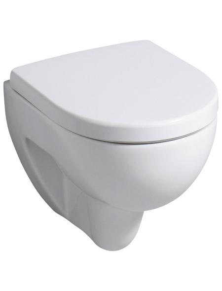 GEBERIT Wand WC »Renova Nr. 1 «, Tiefspüler, weiß, mit Spülrand
