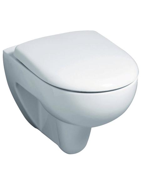 GEBERIT Wand WC »Renova Nr. 1«, Tiefspüler, weiß, spülrandlos