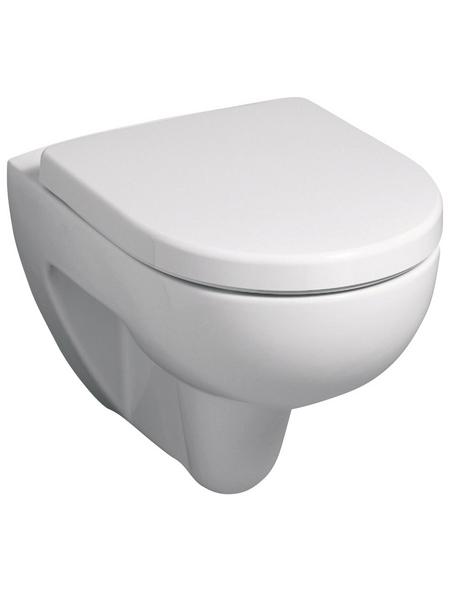 GEBERIT Wand WC »Renova«, Tiefspüler, beige, mit Spülrand