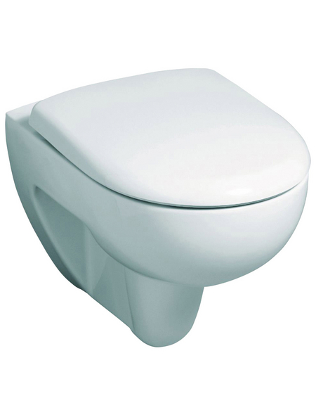 GEBERIT Wand WC »Renova«, weiß, mit Spülrand