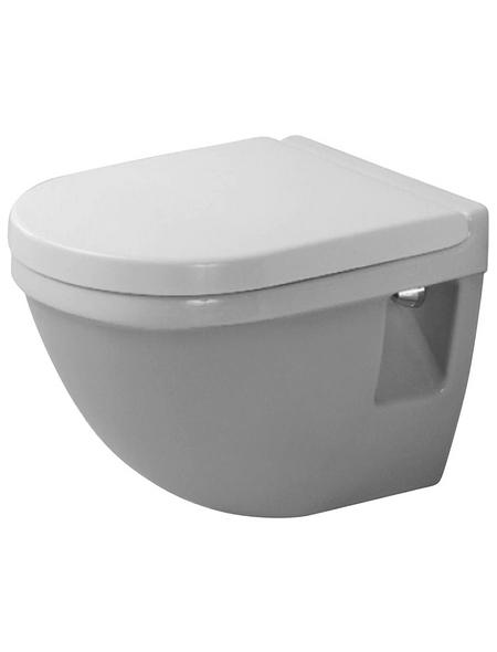 DURAVIT Wand WC »Starck 3 Compact«, weiß