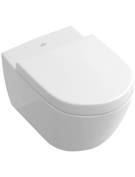 VILLEROY & BOCH Wand WC »Subway 2.0«, Tiefspüler, alpinweiß, spülrandlos