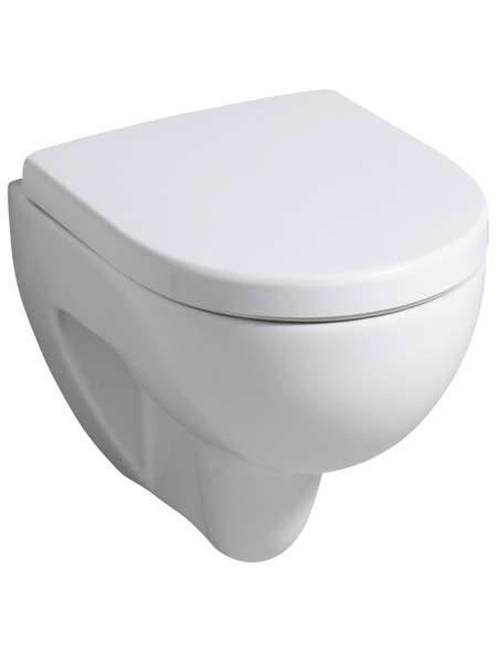 GEBERIT Wand WC, Tiefspüler, weiß