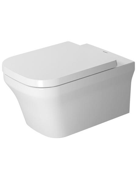 DURAVIT Wand WC, Tiefspüler, weiß, mit Spülrand