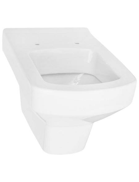 CORNAT Wand WC »VIGO«, Tiefspüler, weiß, mit Spülrand