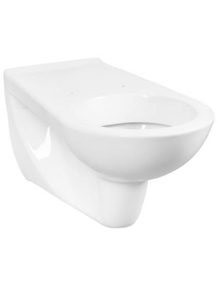 CORNAT Wand WC »VITAL NEO«, Tiefspüler, weiß, mit Spülrand