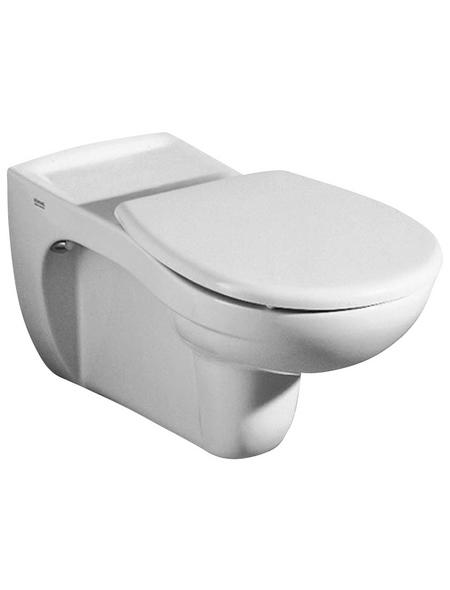 GEBERIT Wand WC »Vitalis«, Tiefspüler, weiß, mit Spülrand