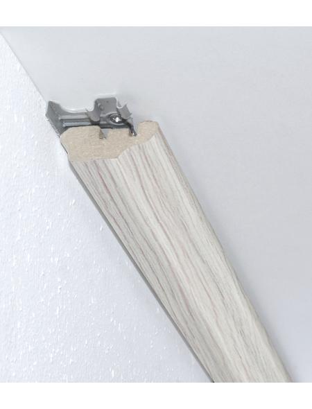 FN NEUHOFER HOLZ Wandabschlussleiste, (1 Stk.) aus Mitteldichte Faserplatte (MDF), für Innenbereich