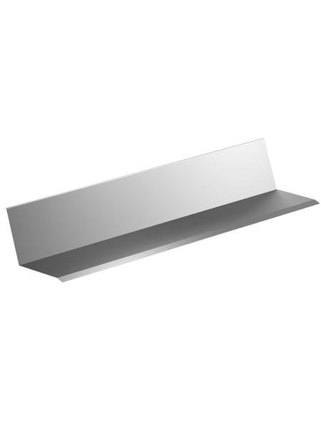 SAREI Wandanschlussblech, BxL: 115 x 2000 mm, Aluminium