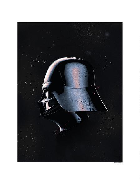 KOMAR Wandbild, BxH: 40 x 50 cm, schwarz