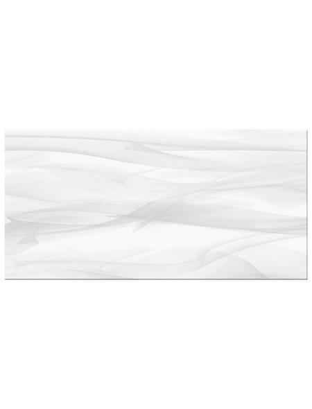 Wandfliese »Macao«, Steinzeug, weiß, matt