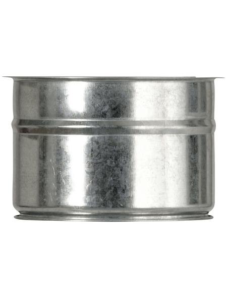 Wandfutter, Stahlblech, innen Ø 120mm, für: Ofenrohr