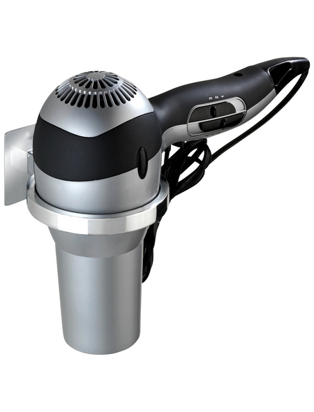 WENKO Wandhaken, Turbo-Loc, LxBxH: 125 x 130 x 70 mm, Kunststoff (ABS) / rostfreier Edelstahl
