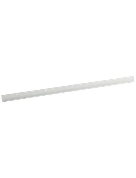 ELEMENT SYSTEM Wandleiste Metall weiß 203,2 x 4,9 x 1,7 cm