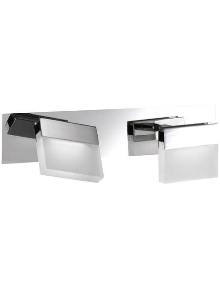 wofi® Wandleuchte Aluminium/Metall/Acrylat