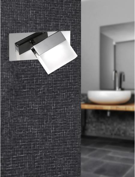 wofi® Wandleuchte Aluminium/Metall/Glas