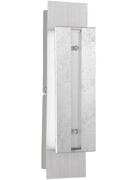 wofi® Wandleuchte dimmbar, Kunststoff/Metall/Glas