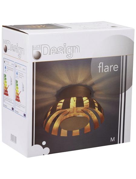 LUCE DESIGN Wandleuchte »FLARE«, Metall
