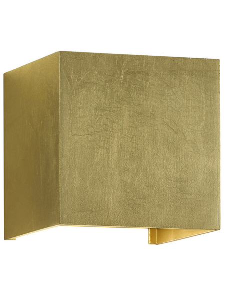 wofi® Wandleuchte goldfarben 5 W, 1-flammig, inkl. Leuchtmittel in warmweiß