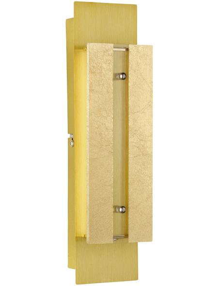 wofi® Wandleuchte goldfarben 5 W, 2-flammig, dimmbar, inkl. Leuchtmittel in warmweiß