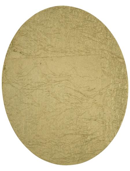 wofi® Wandleuchte goldfarben 6 W, 1-flammig, inkl. Leuchtmittel in warmweiß