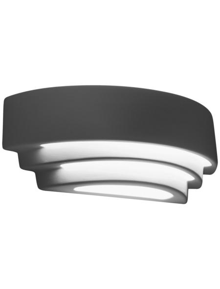 Wandleuchte »JUNIPUS« weiß 60 W, 1-flammig, E27, ohne Leuchtmittel