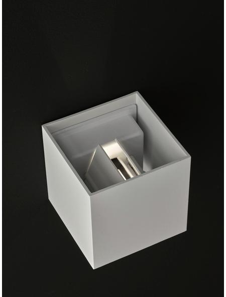wofi® Wandleuchte weiß 5 W, 1-flammig, inkl. Leuchtmittel in warmweiß