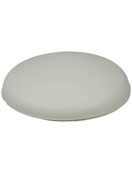 HETTICH Wandpuffer, selbstklebend, Kunststoff, weiß, Ø 40 x 10 mm