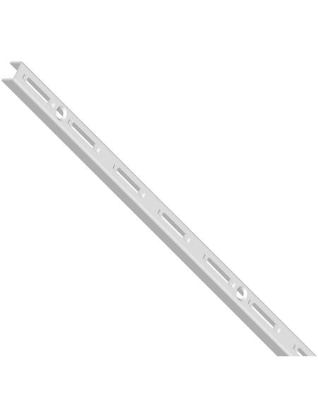 ELEMENT SYSTEM Wandschiene, Stahl, weiß