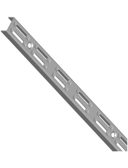 ELEMENT SYSTEM Wandschiene, Stahl, weißaluminium