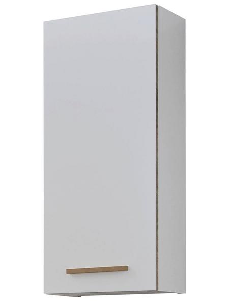 PELIPAL Wandschrank, B x H x T: 30 x 70 x 20 cm, weiß