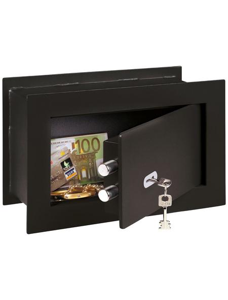 BURG WÄCHTER Wandtresor »PointSafe«, Doppelbartschloss (Schlüsselschloss)