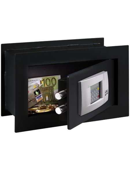 BURG WÄCHTER Wandtresor »PointSafe«, mit Elektroschloss (Zahlenschloss), 34 x 22 x 14 cm