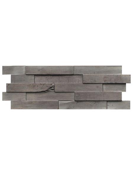 INDO Wandverblender »INDO DRIFTWOOD«, braun, geölt, Holz, Stärke: 20 mm