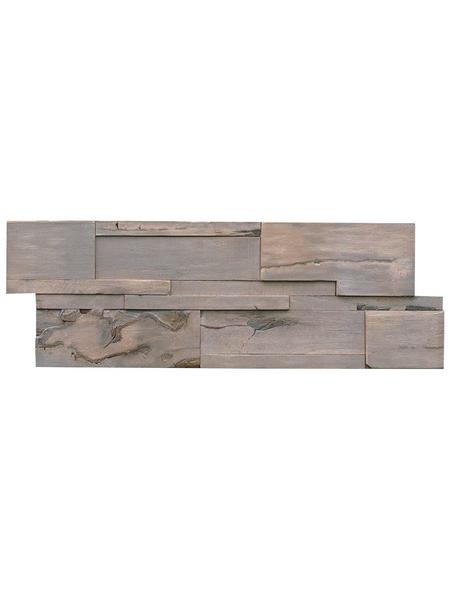 INDO Wandverblender »INDO DRIFTWOOD«, grau, geölt, Holz, Stärke: 20 mm