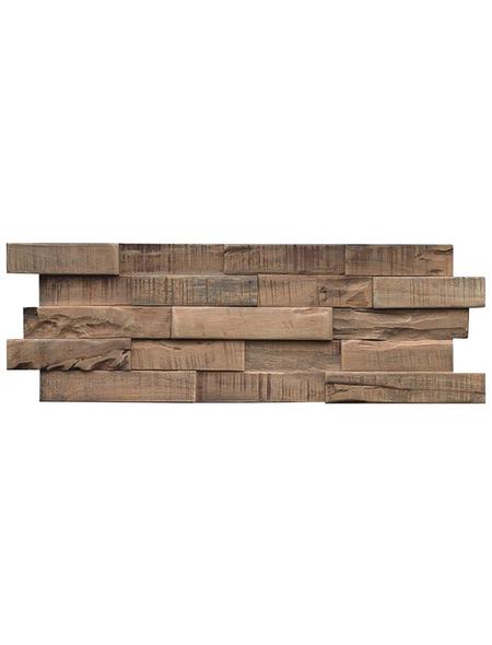 INDO Wandverblender »INDO SLIMWOOD«, braun, geölt, Holz, Stärke: 18 mm