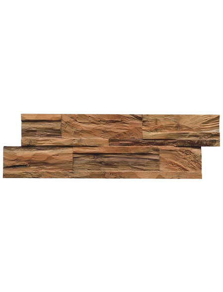 Wandverblender »Teak Diamond«, Natural, unbehandelt