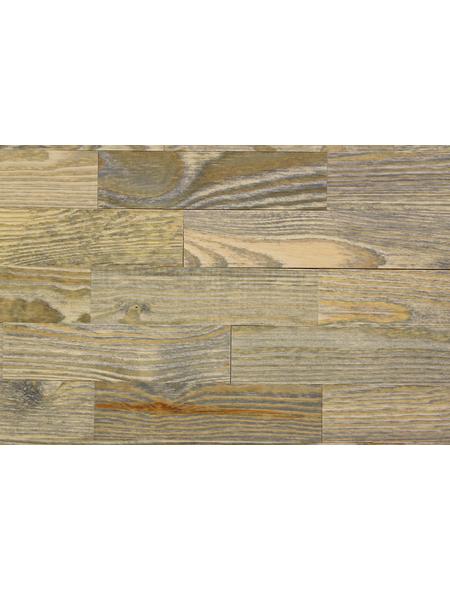 WODEWA Wandverkleidung, braun/grau, Holz, Stärke: 4 mm