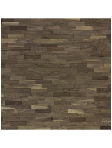 WODEWA Wandverkleidung, dunkelbraun, Holz, Stärke: 6 mm