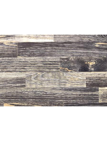 WODEWA Wandverkleidung, grau/schwarz, Holz, Stärke: 4 mm