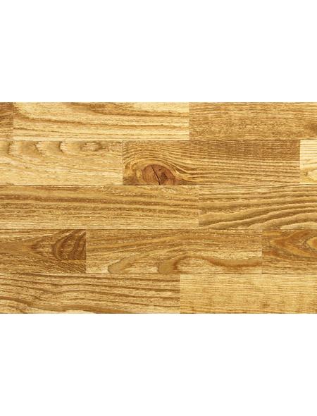 WODEWA Wandverkleidung, hellbraun, Holz, Stärke: 4 mm