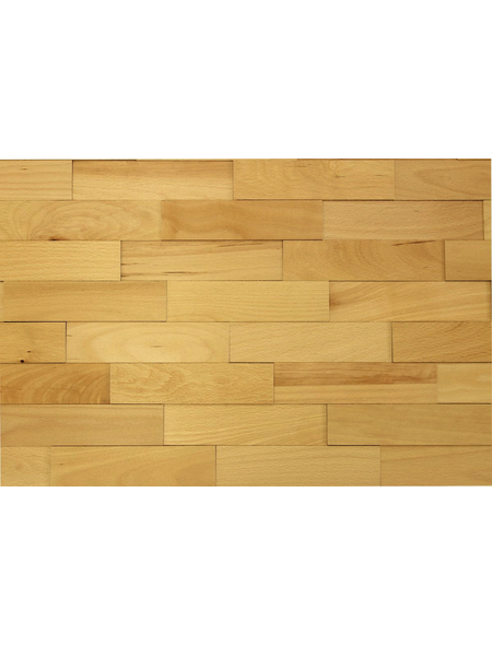 WODEWA Wandverkleidung, hellbraun, Holz, Stärke: 6 mm