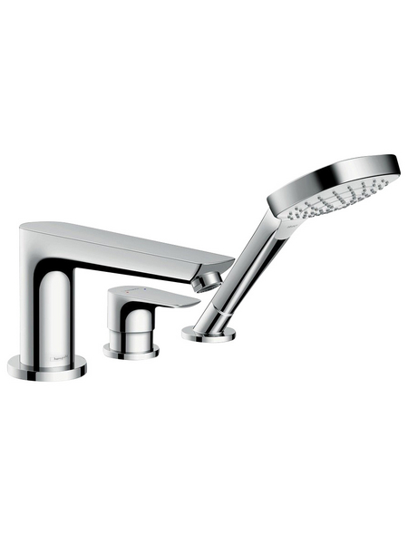 HANSGROHE Wannenrandarmatur »Talis E«, Kunststoff | Messing