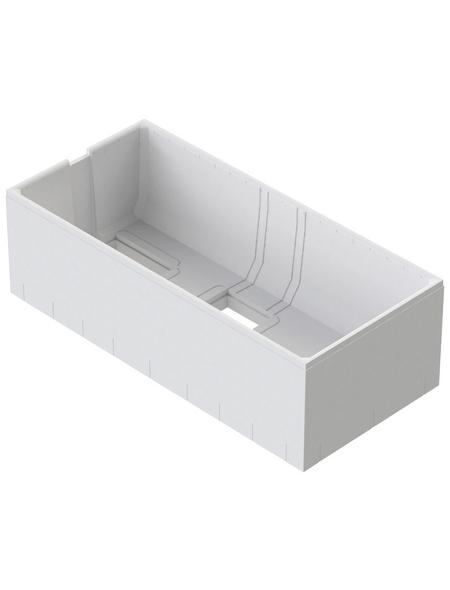 OTTOFOND Wannenträger »Cubic«, Weiß