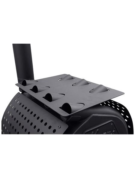 KANUK® Warmhalteplatte für Warmluftofen Kanuk Original 7 kW, BxL: 20 x 40,7 cm, Stahl