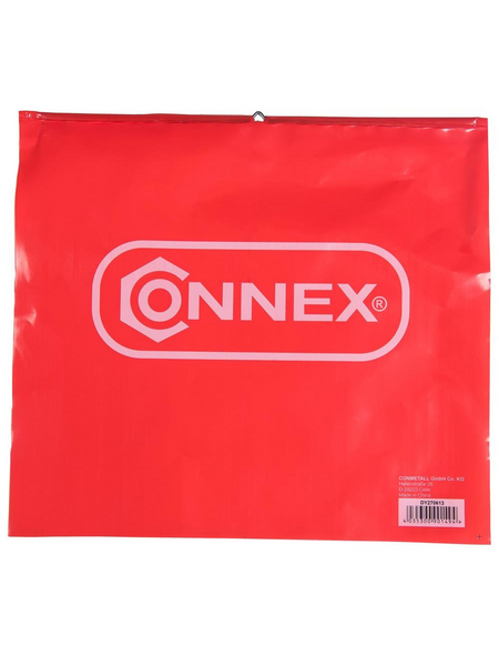 CONNEX Warnflagge, rot/weiß, 30 x 30 cm