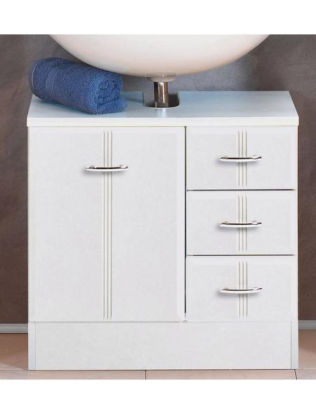 HELD MÖBEL Waschbeckenunterschrank, B x H x T: 60 x 56 x 35 cm Anschlagrichtung: links/rechts