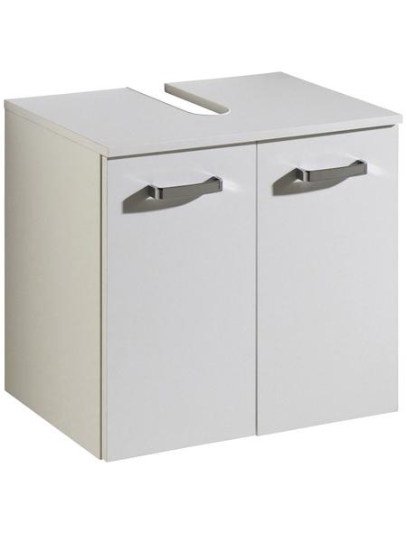 HELD MÖBEL Waschbeckenunterschrank »Capri«, B x H x T: 60 x 53 x 35 cm Anschlagrichtung: links/rechts