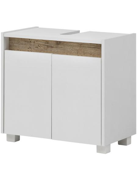 SCHILDMEYER Waschbeckenunterschrank »Cosmo«, BxHxT: 56,9 x 54,6 x 33 cm