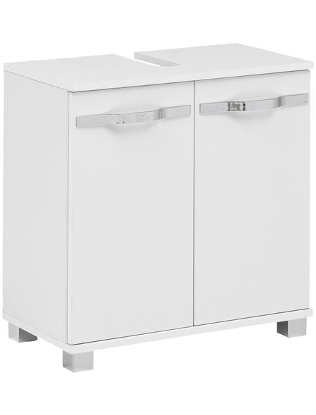 SCHILDMEYER Waschbeckenunterschrank »Diana«, BxHxT: 59,8 x 63,4 x 32,6 cm